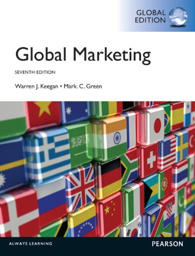 Global marketing / Warren J. Keegan, Mark C. Green